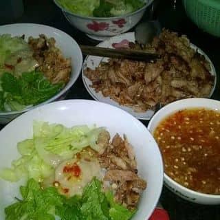 Bún thịt nướng Gia Lai của tranthanhtam4t tại 24 Lê Lợi, Thành Phố Pleiku, Gia Lai - 1468426