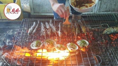 Kết quả hình ảnh cho cá thòi lòi nướng muối ớt