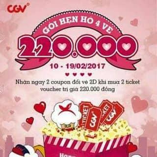Cần bán vé xem phim!!! CGV của nguyenminhy2 tại Cần Thơ - 2630412