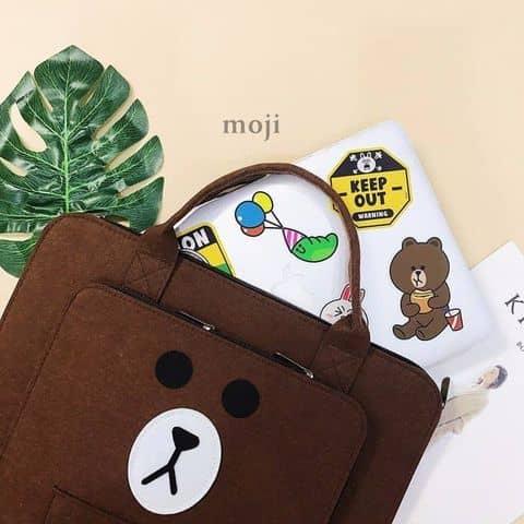 Cặp đựng laptop 1 ngăn 15inch - 5245462 nghiemtran94 - Moji Shop - 7 Ngõ 165