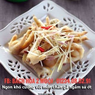 🍃🐔CHÂN GÀ NGÂM SẢ TẮC ỚT🐔🍃 của nguyenhanh50 tại Hồ Chí Minh - 3902668