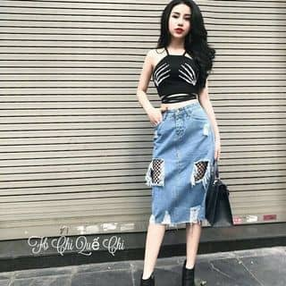 Chân váy bút chì phối lưới của sunny3bie16 tại 30 Trần Bá Giao, phường 5, Quận Gò Vấp, Hồ Chí Minh - 3172284