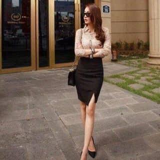 Chân váy bút chì xẻ ta Màu sắc: đen , đỏ như hình của nguyenchang216 tại Vĩnh Phúc - 2218737