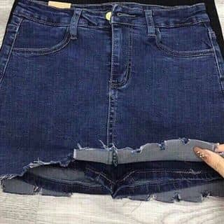 Chân váy jeans răng cưa Giá 165k Size: S M L  Chân váy jean co giãn, form chuẩn, ai mặc cũng ưng của letranletran tại Hồ Chí Minh - 2909496