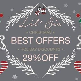 Christmas Best Offer Holiday Discounts 29% Off của lilsiscorner tại Hồ Chí Minh - 2086612