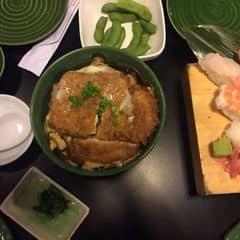 Cơm thịt heo coplech nhật của Phuong Tracy tại The Sushi Bar - Zen Plaza - 1782059