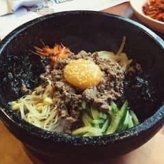 Cơm trộn ngon nhất từng được ăn 😍😍😍  맛있어요!!!