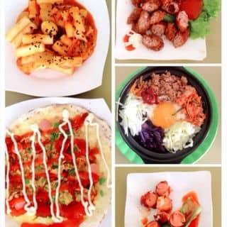 Cơm trộn hàn quốc, tokbokki, bánh tráng trứng, xúc xích, nem chua rán của hoanghaihacongiola tại 4 Nguyễn Trãi, Thành Phố Đồng Hới, Quảng Bình - 394260
