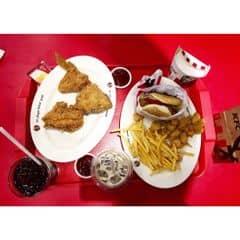 Combo 99k Khuyến Mãi Hấp Dẫn. + pepsi + cafe latte + khoai lắc của VanKhanh Nguyen tại KFC - Times City - 764536