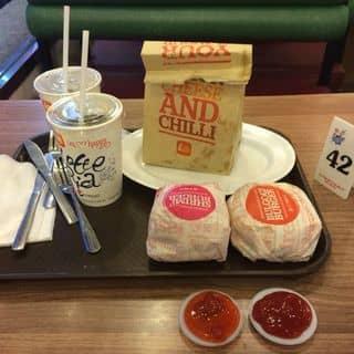 Combo burger + gà của khanhhuyen.26 tại 2 Hồng Quang, Quang Trung, Thành Phố Hải Dương, Hải Dương - 395243