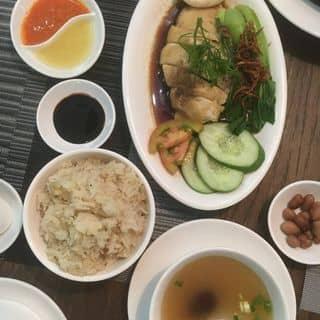 Combo cơm gà luộc của joon tại 25 Nguyễn Trãi, Bến Thành, Quận 1, Hồ Chí Minh - 3181594