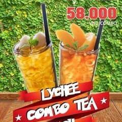 Combo lychee n peach tea của Lê Hồ tại Urban Station Coffee Takeaway - Tô Hiến Thành - 2702671