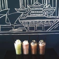 Ice blend ở Urban Station 😍 trong những quán có đồ xay đá ntn t chỉ thích Urban thui kem ngậy vừa ngon vc nước cx ngon lém tu 1 hơi hết nửa cốc lun 😛 Giá cx rẻ thui 35k/c 👍💃#muondongbang