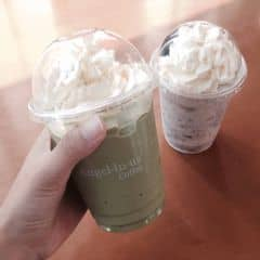 Cookie cream / matcha trà xanh của Hà Thu tại Angel in us Coffee - Lotte Center Hanoi - 2099366