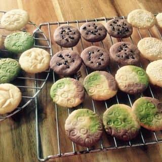 Cookies 4 vị socola, trà xanh, hạnh nhân, bơ sữa của phangam1 tại Tây Ninh - 1218919