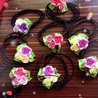 Cột / gắp tóc hoa đất sét của sunnyha17 tại Hồ Chí Minh - 2924913