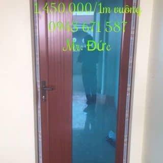 Cửa phòng 4500 mầu gỗ của bacninhnhomkinh tại Hải Phòng - 2497264