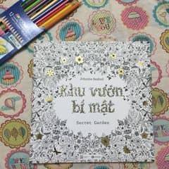 Cunguoimoita Sach To Mau Giup Thu Gian Khu Vuon Bi Mat Khuvuonbimat Secretgarden Healingbook Sachtomau Coloringbook Tai Minh Chau Cua