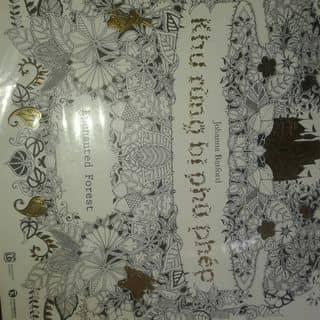 #cunguoimoita Sách tô màu Khu rừng bị phù phép #healingbook #coloringbook #sachtomau của thanhhang274 tại Đồng Tháp - 2201644