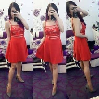Đầm 2 dây hở lưng màu đỏ  của yinnpepi tại Hồ Chí Minh - 2911858