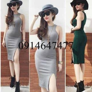 Đầm body bigsize xẻ tà của trinh2161 tại Bình Phước - 1934058