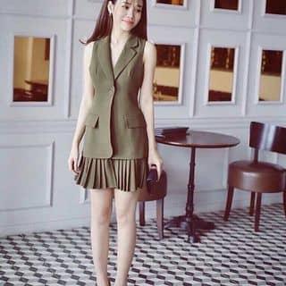 Đầm cổ vest phối lai dập li của nguyenthihang38 tại Hồ Chí Minh - 2908724
