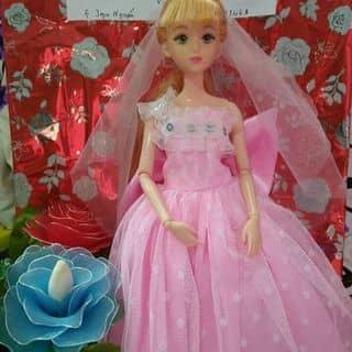 Đầm dạ hội cho búp bê ( kèm khăn đúp cô dâu)  của thanhmypham1 tại Ninh Thuận - 3572379