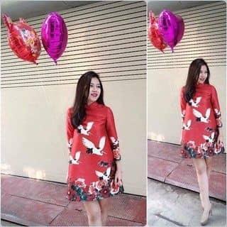 Đầm gấm xịn hoa mẫu đơn hạc của pigu11 tại Hồ Chí Minh - 2489616