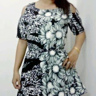 Đầm hoa rớt vai của ntth.thienhuong tại Thạnh Lộc 13 - Hà huy Giáp - phường Thạnh Lộc - quận 12, Quận 12, Hồ Chí Minh - 2497018