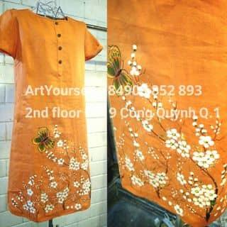 Đầm Linen vẽ tay của yukiemoonlight tại Hồ Chí Minh - 3078638