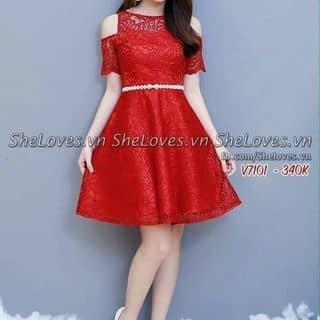 Đầm ren khoet vai của congaixuthanh tại Bình Phước - 2651453