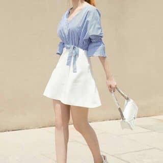 Đầm sọc xanh chân váy trắng của thoto136 tại Hồ Chí Minh - 3191508