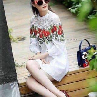 Đầm suông hoa phối ren của ducnhi0412 tại Hồ Chí Minh - 2955147