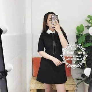 Đầm suông nhẹ tay lỡ cổ ren của thaolinh203 tại 220/42 Thống Nhất,  P. 10, Quận Gò Vấp, Hồ Chí Minh - 2926091