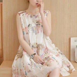 Đầm suông sát nách in phố cổ siêu cute của maitrang2402 tại Hồ Chí Minh - 3147047