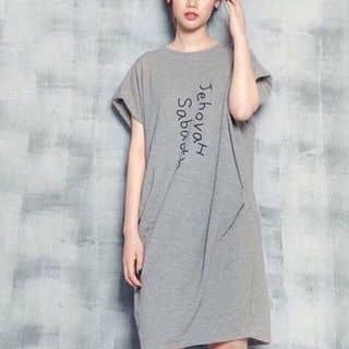 Đầm suông thun in chữ của t.stores tại Hồ Chí Minh - 704948