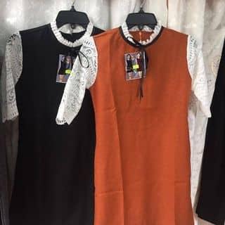 Đầm tay ren cổ trụ của dungdinh28 tại Chợ Đêm Đà Lạt, Thành Phố Đà Lạt, Lâm Đồng - 2076320