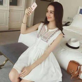 Đầm trắng thổ cẩm của vycarot tại Minh Hưng, Huyện Chơn Thành, Bình Phước - 2482985