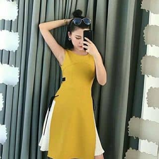 Đầm vàng dập ly của sunny3bie16 tại 30 Trần Bá Giao, phường 5, Quận Gò Vấp, Hồ Chí Minh - 3181601