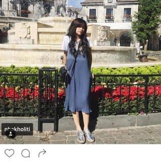 Đầm xếp dài xếp li xanh giá rẻ của girlnolove60 tại Hồ Chí Minh - 3180905