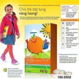Dành cho trẻ em lười ăn - TPCN vitamin tổng hợp WellnessKids của nabiphuong10 tại An Giang - 3056241