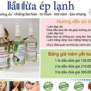 Dầu dừa ép lạnh của anhhoang2705 tại Thái Bình - 3127465