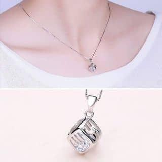 Dây chuyền bạc mặt lập phương của bacbmt tại Đắk Lắk - 3189368