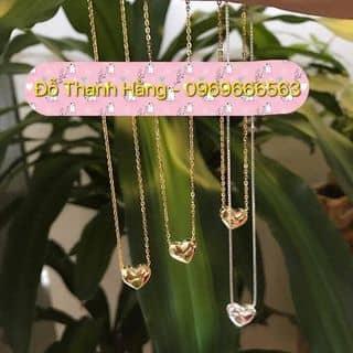 Dây chuyền vàng 10k và dây chuyền bạc ý của bupbenhinhanh1991 tại Mộc Châu, Huyện Mộc Châu, Sơn La - 1514404