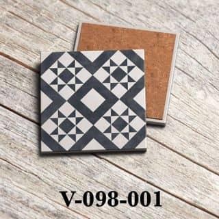 Đế lót ly Gốm Ceramic mẫu gạch bông vintage của nguyennhung1955 tại 53B đường 23 tháng 10, Thành Phố Nha Trang, Khánh Hòa - 5135010