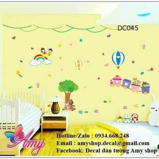 Decal dán tường bé vui công viên của amyshop tại 20/16 Phạm Ngọc, Tân Quý, Quận Tân Phú, Hồ Chí Minh - 2586659