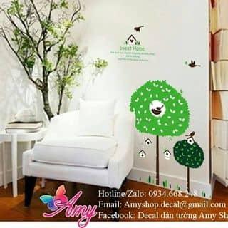 Decal dán tường cây happy của amyshop tại 20/16 Phạm Ngọc, Tân Quý, Quận Tân Phú, Hồ Chí Minh - 2575683