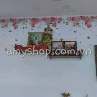 Decal dán tường dàn hoa hồng của amyshop tại 20/16 Phạm Ngọc, Tân Quý, Quận Tân Phú, Hồ Chí Minh - 2605721