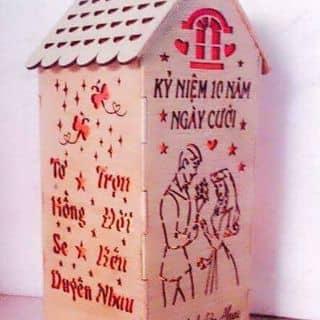 Đèn gỗ khắc hình và chữ theo yêu cầu của ngochan192 tại Hồ Chí Minh - 939950