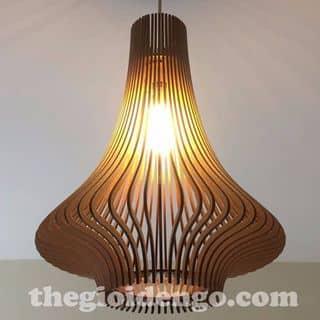 Đèn gỗ trang trí củ tỏi của quangtien5207 tại 67/6 Bờ Bao Tân Thắng, Sơn Kỳ, Quận Tân Phú, Hồ Chí Minh - 2057826